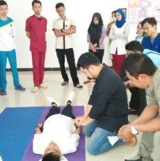 Pelatihan BLS untuk Karyawan RSMP